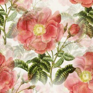 flowers, vintage, background